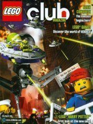 LEGO Systems's LEGO Club Magazine Issue jul/aug 2011