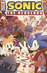 IDW Publishing's Sonic the Hedgehog Annual # 2020