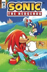 IDW Publishing's Sonic the Hedgehog Issue # 3