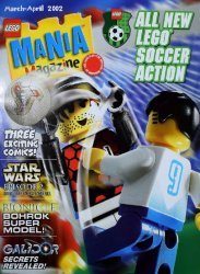 LEGO Systems's LEGO Mania Magazine Issue mar/apr 2002