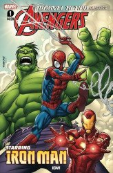 IDW Publishing's Marvel Action Classics: Avengers starring Iron Man Issue # 1