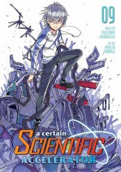 Seven Seas Entertainment's A Certain Scientific Accelerator Soft Cover # 9