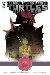 IDW Publishing's Teenage Mutant Ninja Turtles Universe Issue # 21b