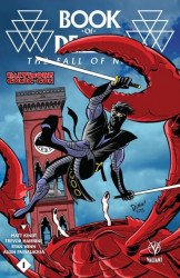 Valiant Entertainment's Book of Death: Fall of Ninjak Issue # 1bcc