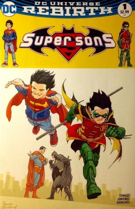SUPER SONS #16 DC Comics NGUYEN VARIANT  1ST PRINT COVER B