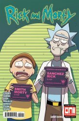 Oni Press's Rick and Morty Issue # 39