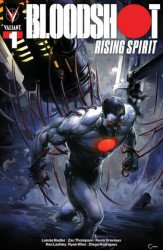 Valiant Entertainment's Bloodshot: Rising Spirit Issue # 1scorpion-a