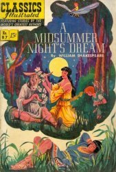 Gilberton Publications's Classics Illustrated #87: A Midsummer Night's Dream Issue # 3