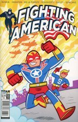 Titan Comics's Fighting American Issue # 3b