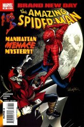 Marvel Comics's The Amazing Spider-Man Issue # 551