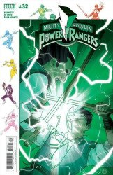 BOOM! Studios's Mighty Morphin Power Rangers Issue # 32b
