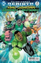 DC Comics's Hal Jordan and the Green Lantern Corps Issue # 29b