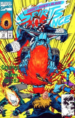 Marvel Comicss Ghost Rider Blaze Spirits Of Vengeance Issue 10