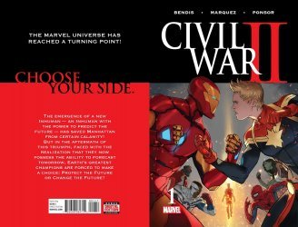 Marvel Comics's Civil War II Issue # 1