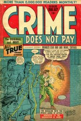 Lev Gleason Publications's Crime Does Not Pay Issue # 67b