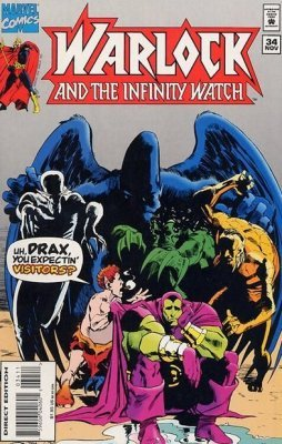 infinity watch. marvel comics\u0027s warlock and the infinity watch issue # 34