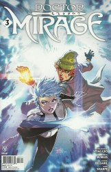 Valiant Entertainment's Doctor Mirage Issue # 3