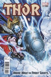 Marvel Comics's Thor: Where Walk the Frost Giants Issue # 1b