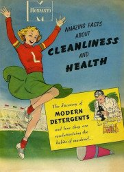 Monsanto's Amazing Facts About Cleanliness and Health Issue nn