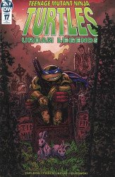 IDW Publishing's Teenage Mutant Ninja Turtles: Urban Legends Issue # 17ri