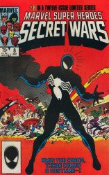 Marvel Comics's Marvel Super-Heroes Secret Wars Issue # 8