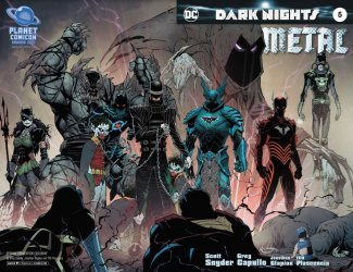DC Comics's Dark Nights Metal Issue # 5planet con-a