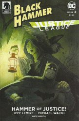 Dark Horse Comics's Black Hammer / Justice League: Hammer of Justice Issue # 4e