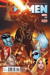 Marvel Comics's Extraordinary X-Men Issue # 5