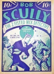 Humor Publishing's Bob Scully, the Two-Fisted Hick Detective Issue nn