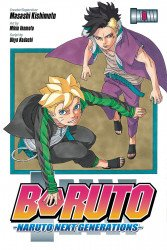 Viz Media's Boruto: Naruto Next Generations Soft Cover # 9