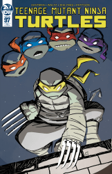 IDW Publishing's Teenage Mutant Ninja Turtles Issue # 97hoc