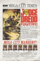 IDW Publishing's Judge Dredd Issue # 25