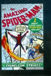 Marvel Comics's Komikai Micro Comics: Amazing Spider-Man Issue # 1