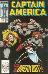 Marvel Comics's Captain America Issue # 340