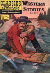 Gilberton Publications's Classics Illustrated #62: Western Stories Issue # 4