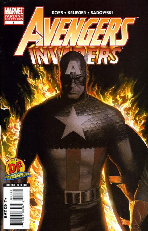 Marvel Comicss Avengers Invaders Issue 1dynamic Forces