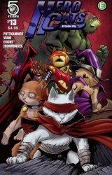 Action Lab Entertainment's Hero Cats Issue # 13b