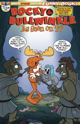 American Mythology's Rocky & Bullwinkle: As Seen on TV Issue # 1