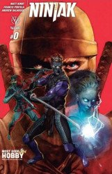 Valiant Entertainment's Ninjak Issue # 0mostgoodhobby