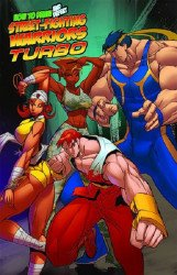 Antarctic Press's How to Draw and Defeat Street-Fighting Warriors Turbo Soft Cover # 1