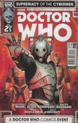 Titan Comics's Doctor Who: Supremacy Of The Cybermen Issue # 2c
