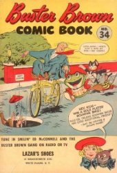 Buster Brown Shoes's Buster Brown Comics Issue # 34lazars