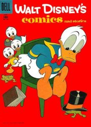 Dell Publishing Co.'s Walt Disney's Comics and Stories Issue # 200