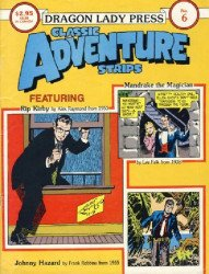 Dragon Lady Press's Classic Adventure Strips Issue # 6
