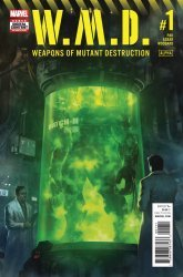 Marvel Comics's Weapons of Mutant Destruction: Alpha Issue # 1