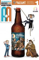 Valiant Entertainment's A&A Issue # 1american brewers