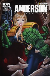 IDW Publishing's Judge Dredd Anderson: Psi-Division Issue # 3sub
