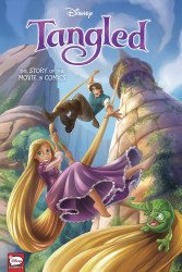 Dark Horse Comics's Disney Tangled: The Story of The Movie in Comics Hard Cover # 1