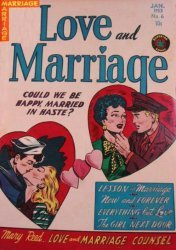 Superior Comics's Love and Marriage Issue # 6