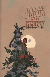 Albatross Exploding Funny Book's Fearless Dawn Meets Hellboy Issue # 1b